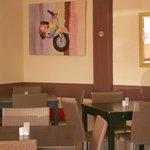 Interior of Cafe Med