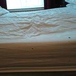 Uncomfortable mattress