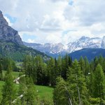 typical scenery near Corvara
