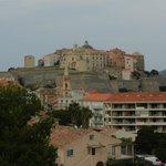 Vue de la chambre sur la citadelle