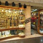 one shop in the gold souk, Dubai