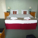 Very comfortable and spacious room.