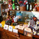 Great selection of souvenirs..try the chocolate rocks!!