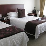 Our warm, cosy and inviting room.