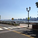 Beautiful views of the Hudson and Manhattan