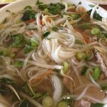 #23 rare beef noodle pho