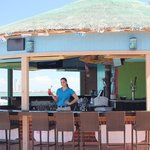 Our patio bar waiting for you