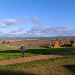 Enjoying the view from Pindarie Estate