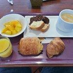 petit déjeuner de 7h30 à 10h00