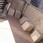il balcone e vista camera