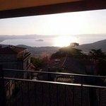 l unica cosa decente del hotel la terrazza vista lago