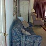 Queen Suite Sofa bed and Recliner