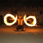 Amazing Fire Dancer at RCI