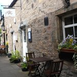 Cafe Moka is situated in The Courtyard, off Bonnygate in Cupar