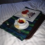 delicious sweets took to our room to enjoy whilst watching tv