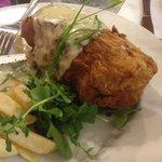 'The Bush' Sunday Chicken Kiev Special, June 2013, Delish!