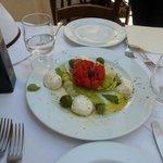 Salade Caprese ... miam