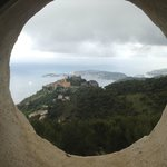 View over Eze from St. Hospice