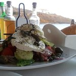 Excellent Greek Salad with local cheese