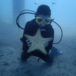 Grandson w/ Sea Star