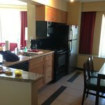 Kitchen (stove, micro, dishwasher, refrigerator)