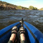 Kayaking the Rio Grande to Riverside Meadows