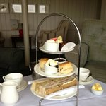 Afternoon tea at the Blakeney Hotel