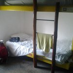 I stayed in the dormitory bed