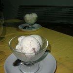 Coppa di gelato artigianale -LA STRACCIATELLA!!!