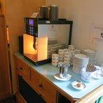 Coffee Machine at Breakfast Room