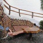 Iguana tiles decoration