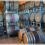 Brick House Winery Barrel Cellar