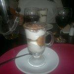 tiramisu- nagerecht menu