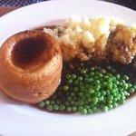 steak and kidney suet pudding