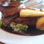 roast beef Sunday dinner