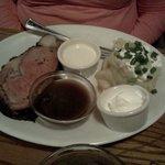 Prime Rib Dinner - weekend special