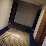 foto de lo que se ve al salir del ascensor