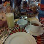 Rico y saludable desayuno