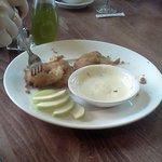 Batter-fried Apple Slices