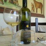 uno dei vini serviti ( e terminati)