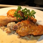 Roast Guinea Fowl with Wild Forest Mushroom sauce