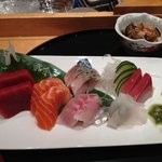 Delicious sashimi.  Fat tuna was one of the best I have tried worldwide.