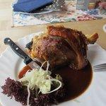 Schweinehaxe (pork knuckle)