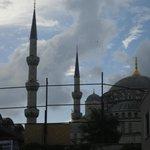 moschea blu vista camera