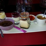 cafe gourmand hummm....