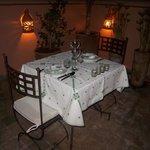 La table des amoureux.....