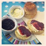 Yummy cream tea!
