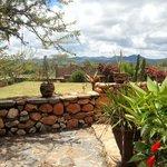 Masai Eco  Lodge view of Orini Hills
