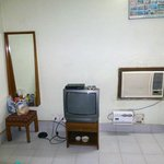 Room with all basic amenities