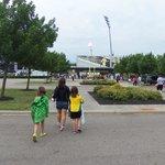Going into the Stadium